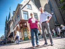Historische siersteen voor Academiehuis Grote Kerk Zwolle