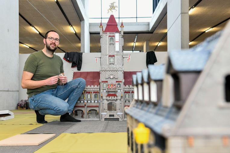 Ken Callebaut  zal twee weken nodig hebben om de maquette op te bouwen.