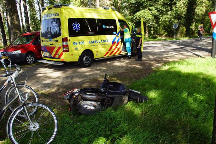 Bij een ongeval in Doetinchem raakten twee mensen gewond.