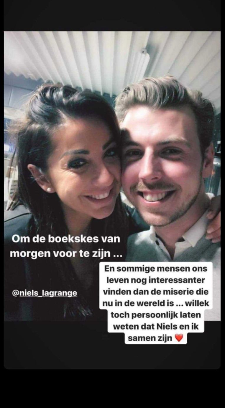 Romy en Niels maakten hun relatie bekend via Instagram.