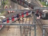 Metro ontspoord in Hongkong: acht gewonden