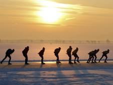 Met sterk versoepelde coronamaatregelen zijn  schaatstoertochten wellicht toch mogelijk