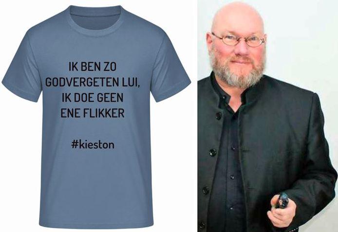Met zijn shirt-waardige uitspraken, had Ton Visser (D66) zomaar een cultfiguur kunnen worden.