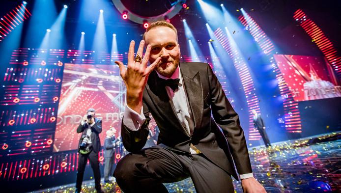 Zondag met Lubach won vorig jaar de Gouden Televizier-Ring tijdens het 52ste Gouden Televizier-Ring Gala in de AFAS Live.