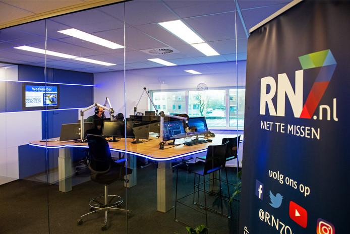 De nieuwe studio van RN7 in Kerkenbos.