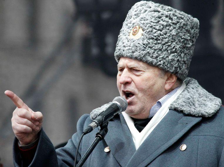 Vladimir Zhirinovsky. Beeld reuters