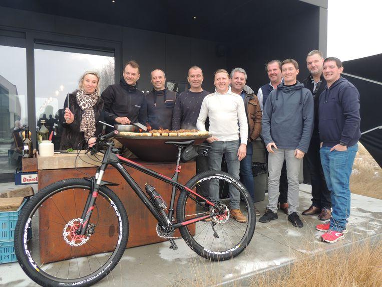De nieuwe mountainbikeclub 'Mardi Matin' van de horeca-uitbaters in Middelkerke en Nieuwpoort.