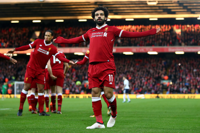 Mohamed Salah speelt zaterdagmiddag (13.30 uur) met Liverpool de uitwedstrijd bij Tottenham Hotspur.
