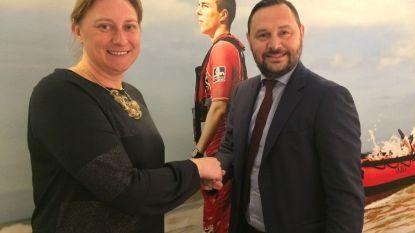 Blankenbergse burgemeester eerste vrouw aan het roer van kustreddingsdienst
