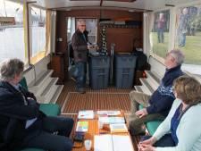 Unieke ontmoeting op stemboot Steenwijkerland