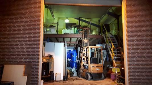 Zo ziet het drugslab er van buiten uit.