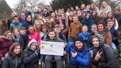 Stella Matutina schenkt 3.500 euro aan De Kleppe