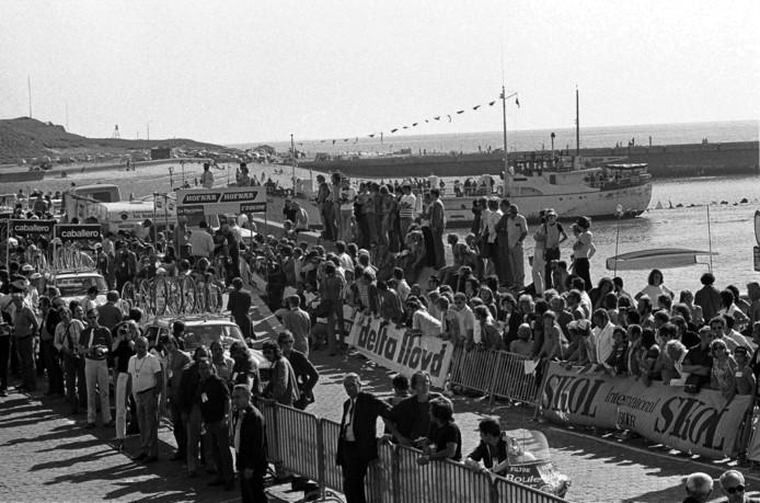 Start Tour de France in 1973.