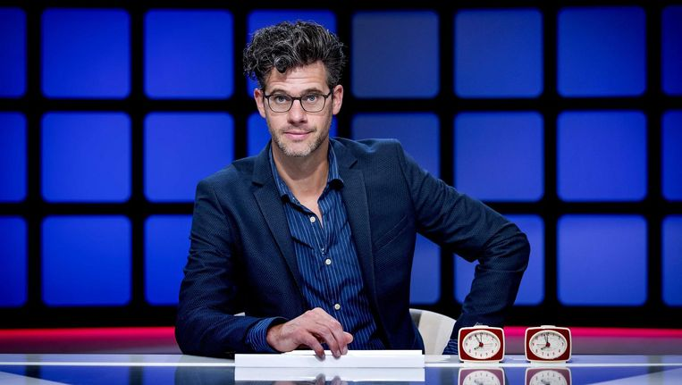 Erik Dijkstra, de nieuwe presentator van Per seconde wijzer. Beeld Koen van Weel
