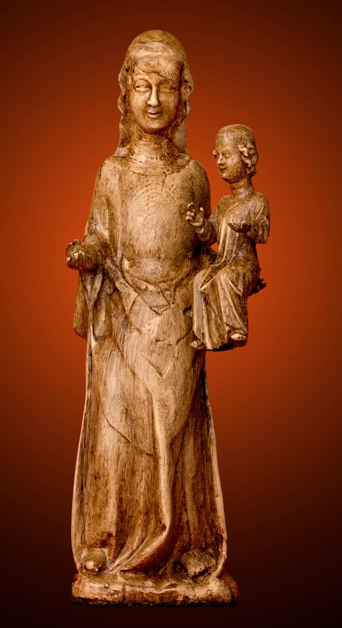De opbrengst van een replica van onze Zoete Lieve Vrouw is bestemd voor onderzoek en restauratie van het beeld dat in de Mariakapel staat.