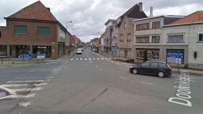 Zware verkeershinder op komst:  kruispunt Doorniksesteenweg sluit