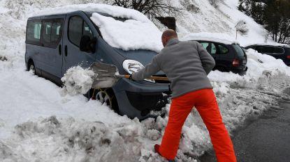 Duizenden Vlamingen kunnen vandaag vanuit Alpen naar huis dankzij lawines