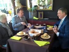 Burgemeester Ommen: 'Ik eet het liefst een boterhammetje met kaas met de inwoners'