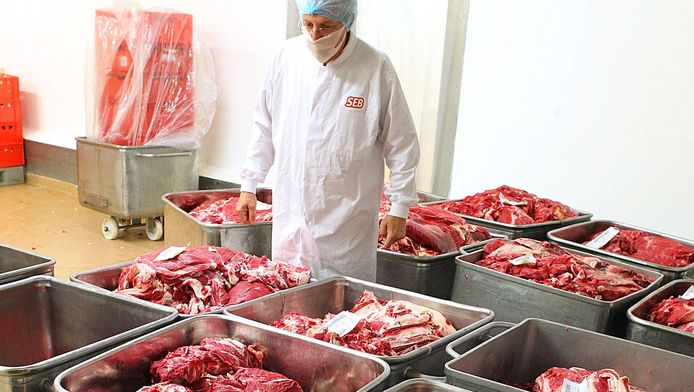 Om een kilo rundsvlees te produceren is 15.500 liter water nodig.