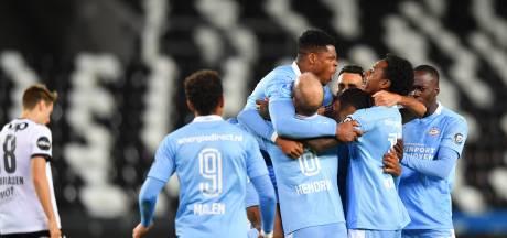 Schmidt en Mvogo loven PSV: 'Dit was ons doel, we willen elke drie dagen voetballen'