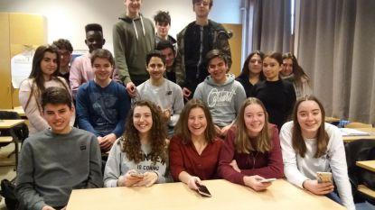 Leerlingen GO!-Atheneum vallen in de prijzen met gedichten