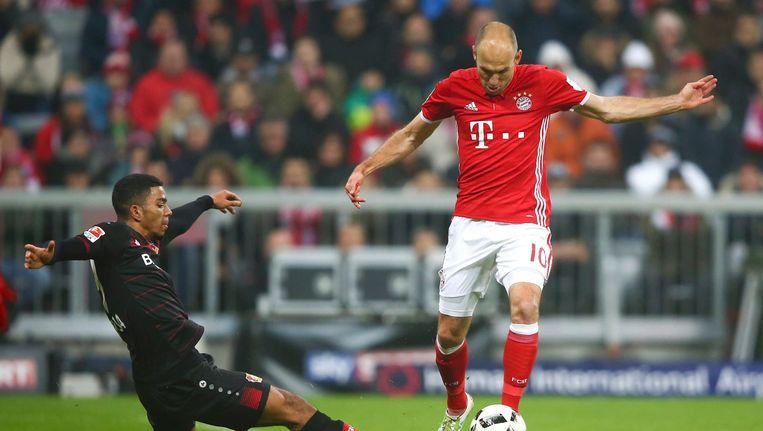 Robben in actie voor Bayern München Beeld photo_news