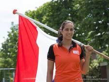 Reshmie Oogink pakt historische bronzen plak op WK taekwondo