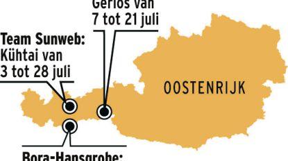 Plots is Oostenrijk populaire bestemming voor wielerstages
