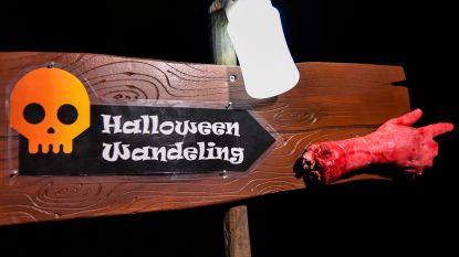 Halloweentocht voor jong en oud