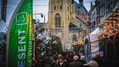 Opnieuw Kerstmarkt op de Grote Markt