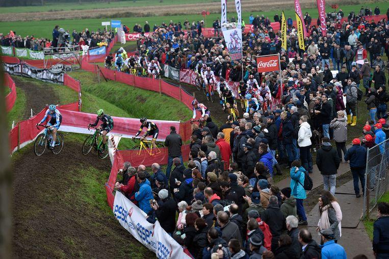 De Jaarmarktcross lokte ook vorig jaar weer heel wat gegadigden.