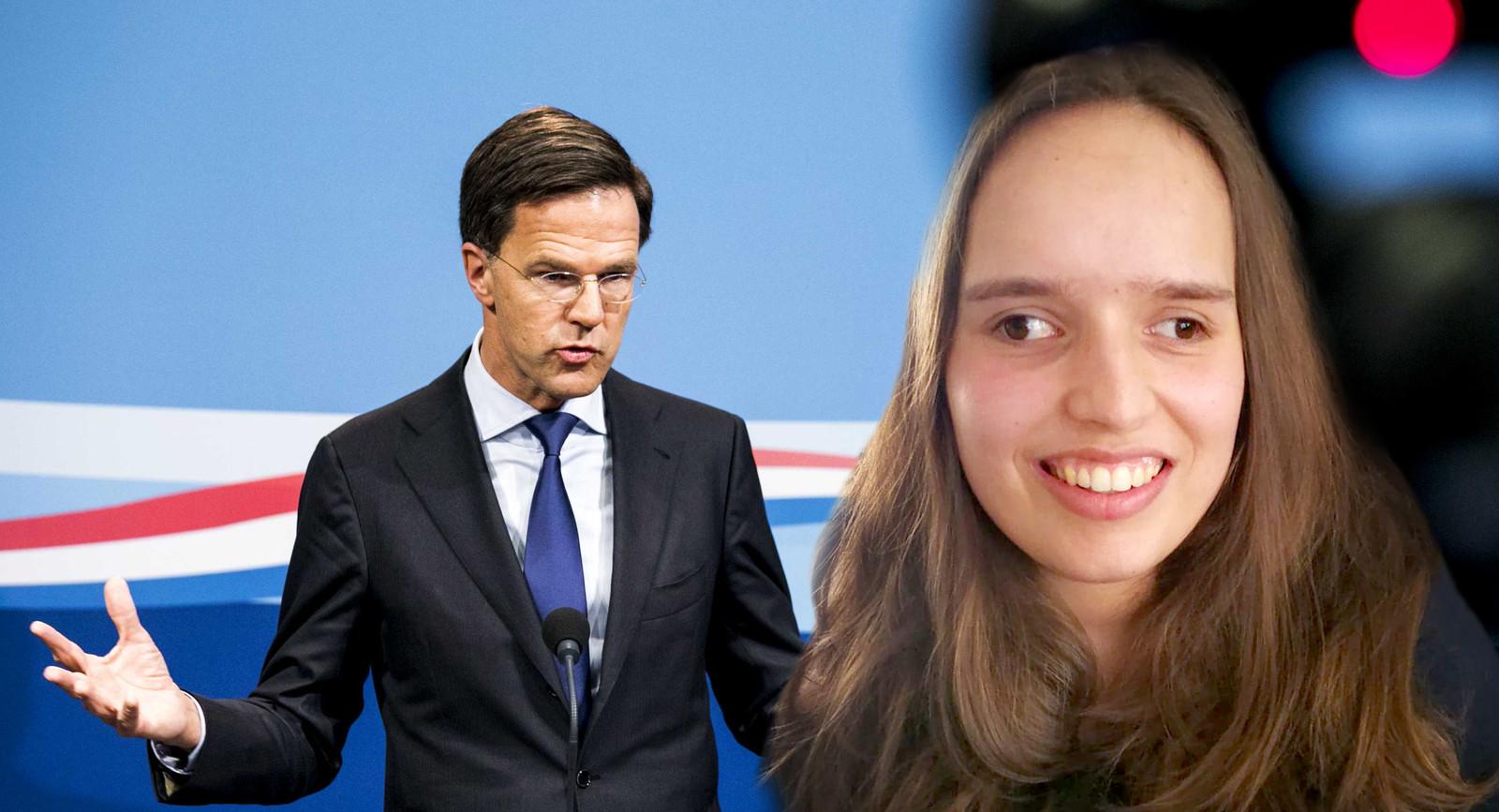 Indrukwekkende brief van Roosendaalse Noortje van Lith aan premier Mark Rutte