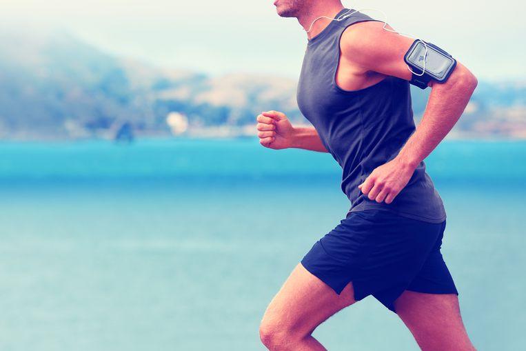 Een jogger.