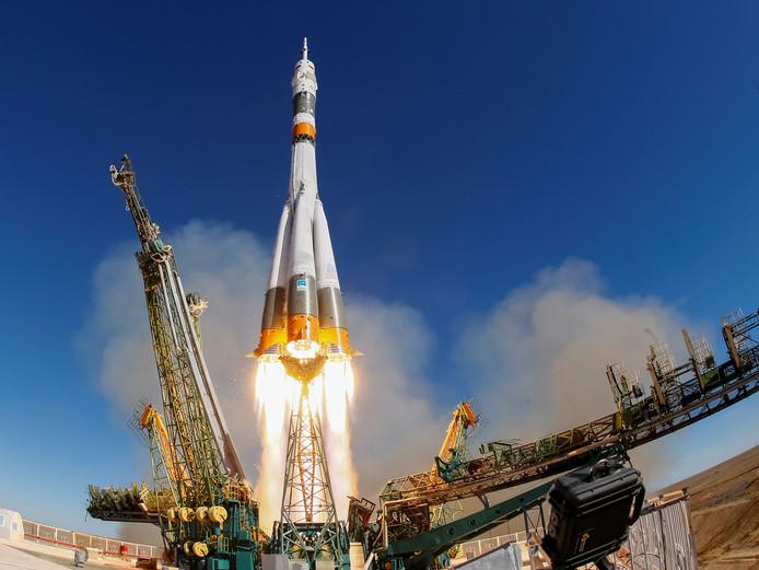 De Soyuz MS-10 heeft een noodlanding moeten maken