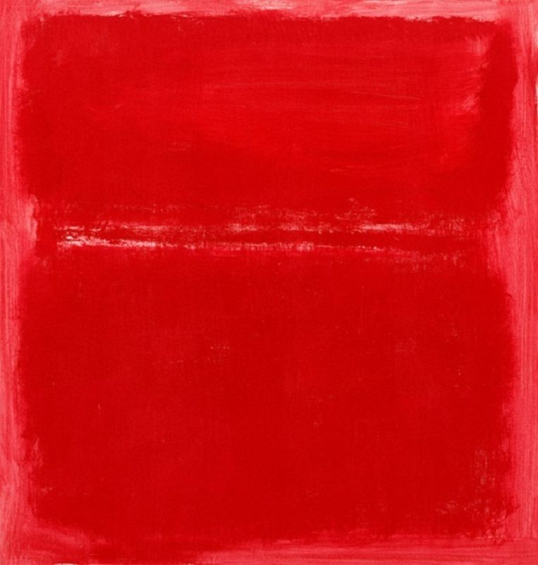 Rothkos laatste schilderij, Zonder Titel, 1970 Beeld Mark Rothko