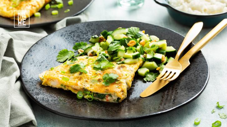 Wat Eten We Vandaag: Vietnamese omelet met garnalen