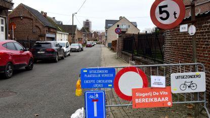 De Brusselstraat blijft nog even dicht