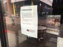 Ton Heerts greep vrijdag in toen er veel te veel mensen bij restaurant Silk in Apeldoorn binnen waren.