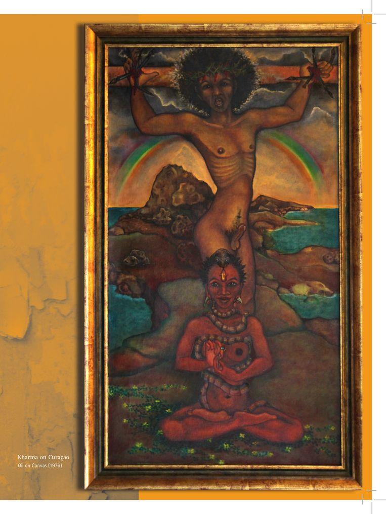 'Kharma on Curacao'. Beeld Felix de Rooy
