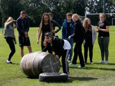 Opnieuw Schotse taferelen tijdens de Highland Games op middelbare school in Leerdam