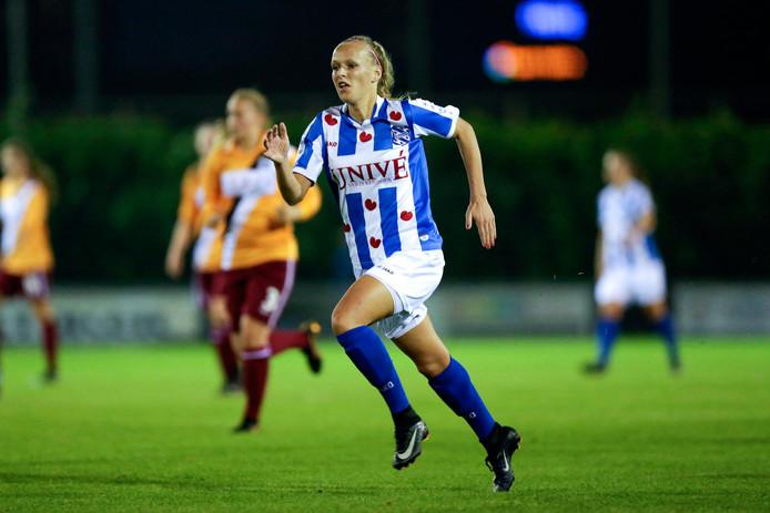 Nathalie van den Heuvel (FC Eindhoven) op archiefbeeld