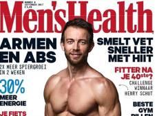 Krachtpatser Henry Schut met godenlijf op cover Men's Health