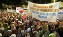 Tegen de invoering van passend onderwijs, door toenmalig minister Marja van Bijsterveldt in het kabinet-Rutte I, werd fel geprotesteerd.