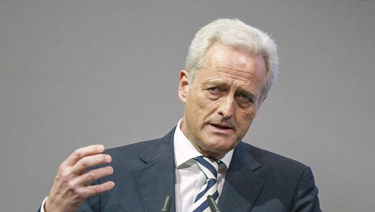 Duitse minister van Verkeer, Peter Ramsauer Beeld epa