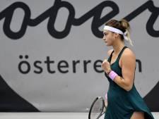 Sabalenka klopt Mertens en schrijft WTA-toernooi van Linz op haar naam
