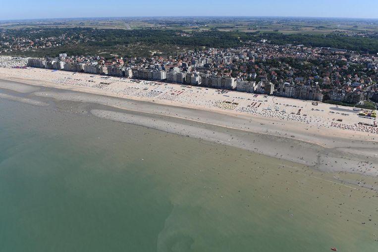 De Panne heeft het breedste strand van de Belgische kust.