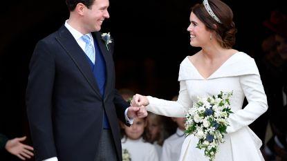 Modeontwerper Zac Posen toont nooit eerder vertoonde foto van prinses Eugenie's tweede trouwjurk