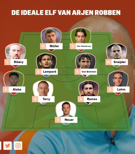 Wereldsterren kiezen ideale elf; Puyol stelt Robben op, Casillas kiest Van Basten