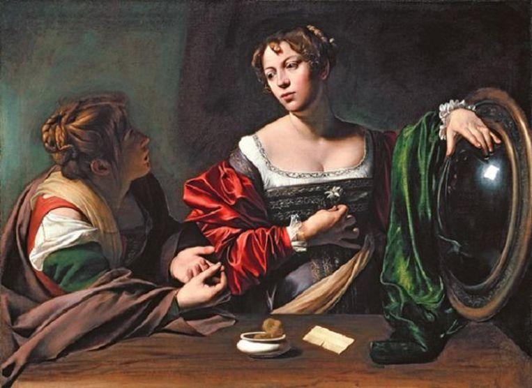 Caravaggio Beeld