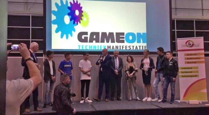 Uitreiking van de ondernemersprijs tijdens Game On 2017. Foto ter illustratie.